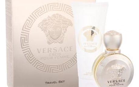 Versace Eros Pour Femme dárková kazeta pro ženy parfémovaná voda 50 ml + tělové mléko 100 ml