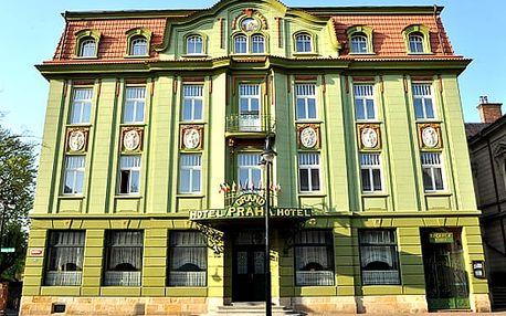 Wellness pobyt pro dva v 4*Grand Hotelu Praha v Českém Ráji. Polopenze, vstup do Císařských lázní.