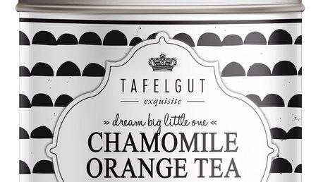 TAFELGUT BIO Bylinný čaj Chamomile Orange Tea - 90gr, černá barva, bílá barva, kov