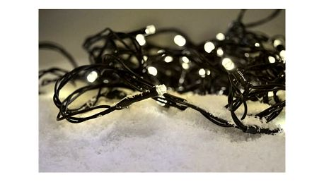 Solight Vánoční řetěz 200 LED teplá bílá, 20 m