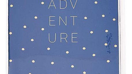 Busy B Cestovní plánovač Adventure Fashion, modrá barva, papír