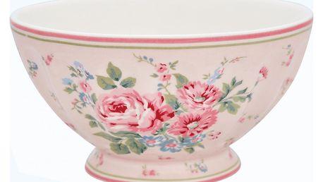 GREEN GATE Francouzská miska Marley pale pink XL, růžová barva, porcelán