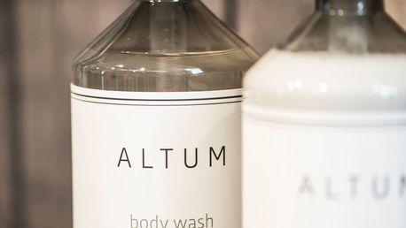 IB LAURSEN Sprchový gel ALTUM - Marsh Herbs 500ml, čirá barva, plast