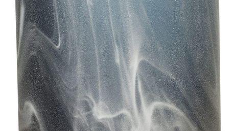Bloomingville Skleněná váza Blue/Smoke, modrá barva, šedá barva, sklo