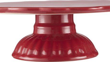 IB LAURSEN Dortový stojan Mynte Strawberry, červená barva, keramika