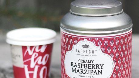 TAFELGUT Ovocný čaj Creamy Raspberry Marzipan - 110gr, červená barva, kov