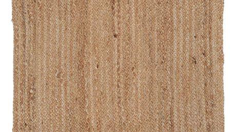 IB LAURSEN Jutový koberec Nature 70x120 cm, přírodní barva