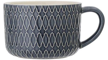 Bloomingville Keramický hrnek Naomi C, modrá barva, keramika