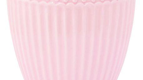 GREEN GATE Latte cup Alice pale pink, růžová barva, porcelán 300 ml