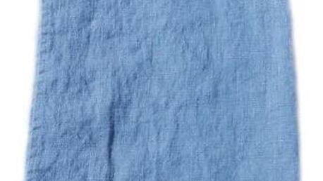 Lovely Linen Lněný běhoun na stůl Dusty Blue, modrá barva, textil