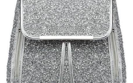 Dámský stříbrný batoh Eden 6841
