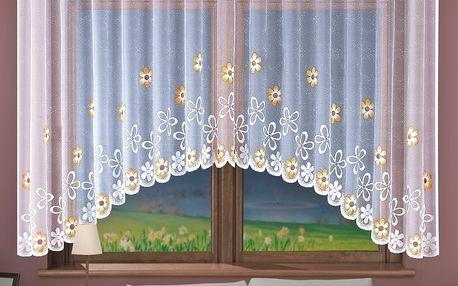 Forbyt Záclona Chloris barevná, 280 x 130 cm