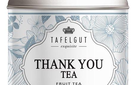TAFELGUT Ovocný čaj Thank You Tea - 130 gr, modrá barva, kov
