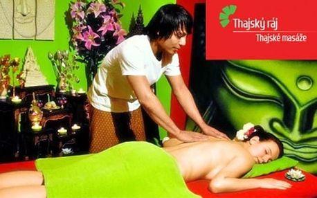 60minutová royal bylinná masáž a rybičky Garra Rufa v pražských salonech Thajský ráj