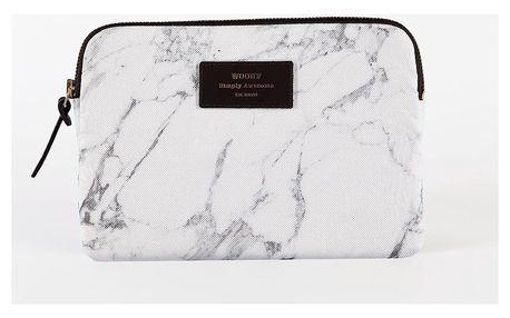 Woouf! Obal na iPad Mini White Marble, šedá barva, bílá barva, textil