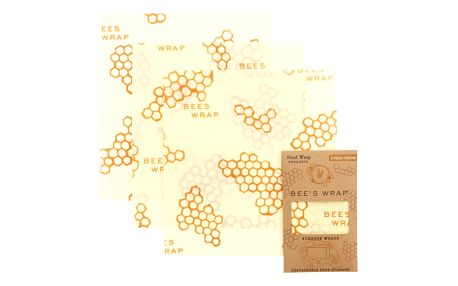 Bee's Wrap Ekologický potravinový ubrousek na sýr - 3ks, žlutá barva, textil
