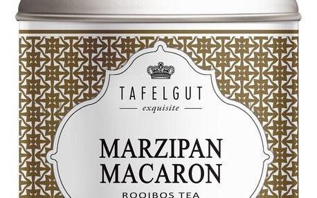 TAFELGUT Čaj rooibos Marzipan Macaron - 150gr, hnědá barva, zlatá barva, kov