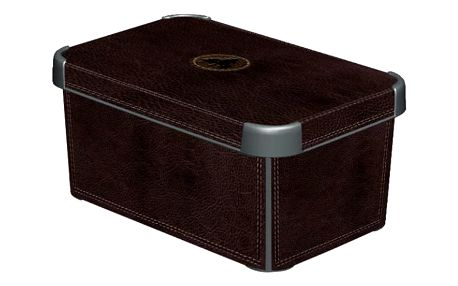 CURVER DECO LEATHER 33021 Plastový úložný box - S
