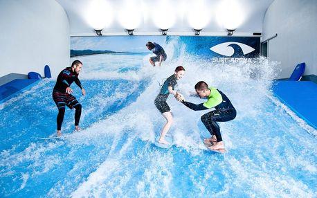 Surfing na trenažeru