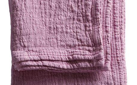 Tine K Home Bavlněný ručník Pink 50x100 cm, růžová barva, textil