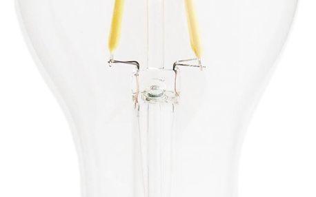 MADAM STOLTZ Retro LED žárovka (E27, 4 W) - klasická, čirá barva, sklo