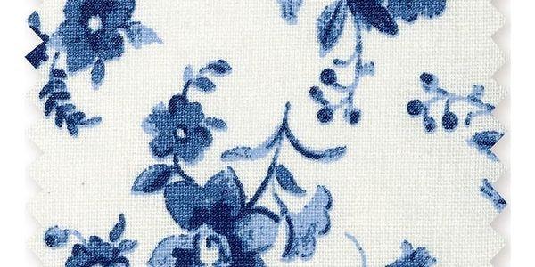 GREEN GATE Bavlněná látka Vanessa blue - 1m, modrá barva, textil