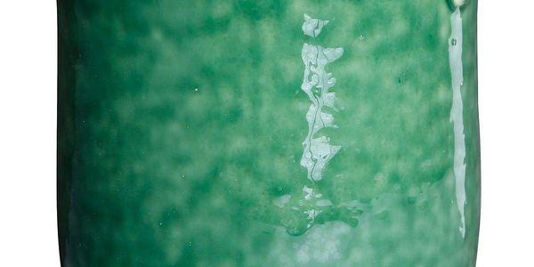 CÔTÉ TABLE Keramická mísa - Pot Vert, zelená barva, keramika
