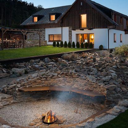 Stylový Penzion Adamův Dvůr na Šumavě se skvělou gastronomií a saunou