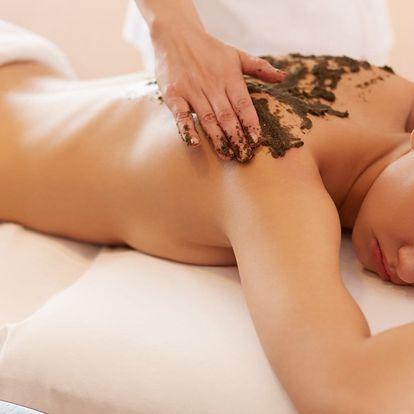 Relaxace s masáží: Čokoládová masáž se zábalem