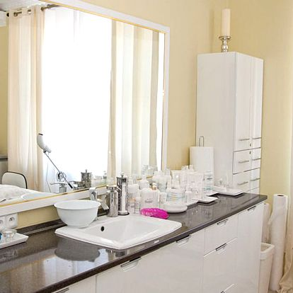 Kosmetický balíček: čištění obličeje a lymfomasáž + úprava obočí