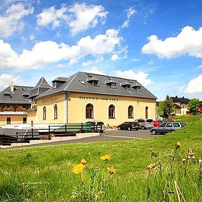 Sezóna 2019 v Krušných horách pobyt s polopenzí a wellness v 3*Hotelu Praha.