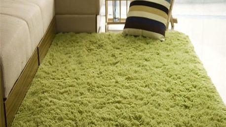 Měkký plyšový kobereček do domácnosti
