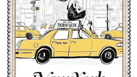 New York pro milovníky módy - Megan Hess, multi barva, papír