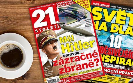 Předplatné časopisu 21. Století s bonusem