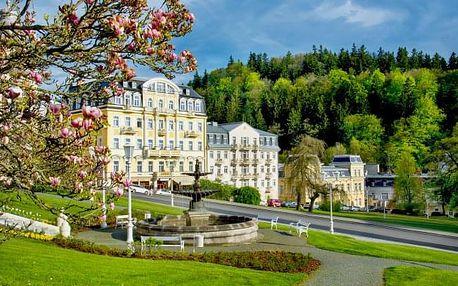 Mariánské Lázně luxusně ve 4* hotelu