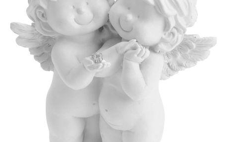Vánoční andělé Love in Sky, 13,5 cm