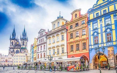 Kouzelná Praha ve 3* hotelu blízko centra