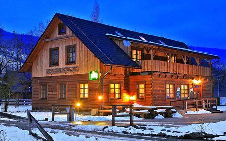 Zima v Beskydech s polopenzí a privátním wellness