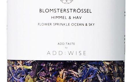 ADD:WISE Jedlé květy slézu, chrpy a levandule 20gr, fialová barva, čirá barva, plast