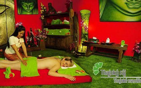 1–3x 60 minut masáž proti celulitidě a 10 minut Garra Rufa v salonech Thajský ráj v Praze