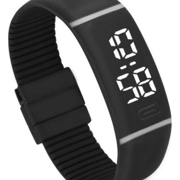 Silikonové LED hodinky - 11 variant