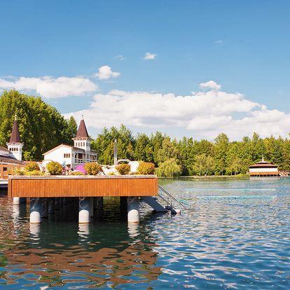 Ubytování v Maďarsku jen 100 m od největšího termálního jezera světa