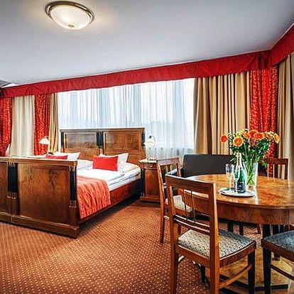 3denní pobyt pro 2 osoby se snídaněmi v hotelu Mucha*** v Praze