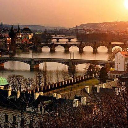 3–4denní pobyt pro 2 se snídaněmi v hotelu Theatrino**** v Praze