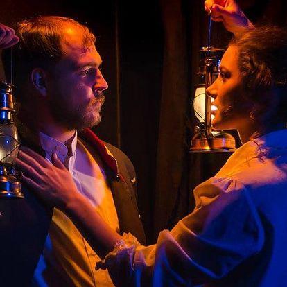 Vstupenka na divadelní hru Petrolejové lampy