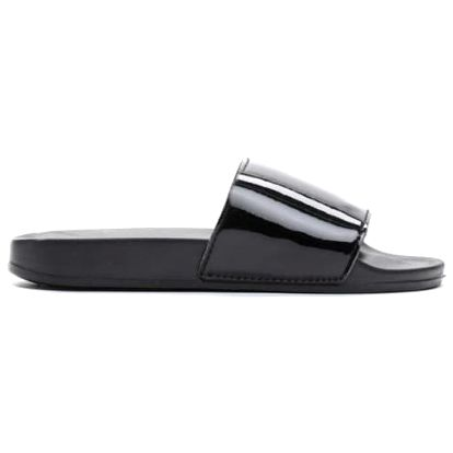 Dámské černé pantofle Style 10761G