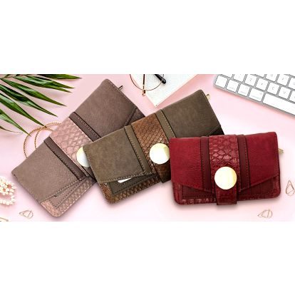 Dámské elegantní peněženky v několika barvách
