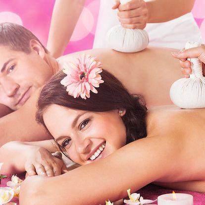 Thajský ráj v centru Prahy - relaxační masáž pro dva