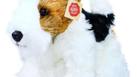 Plyšový pes foxteriér Dášeňka