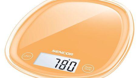 Sencor SKS 33OR kuchyňská váha, oranžová